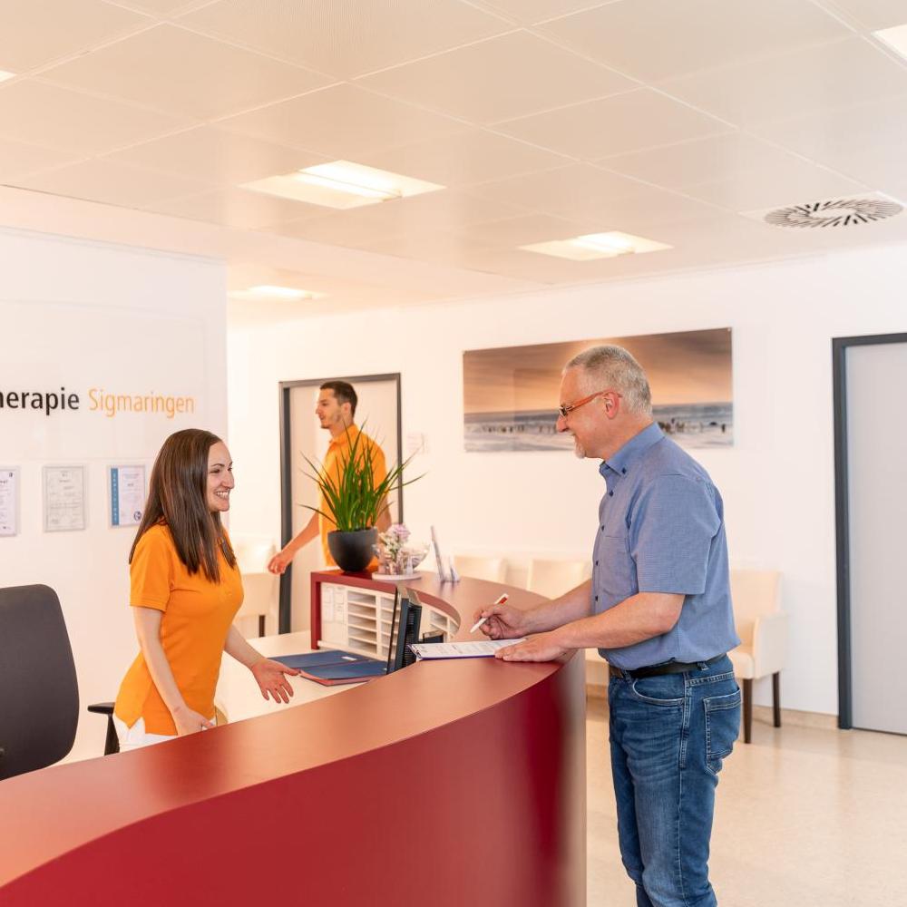 Empfangsbereich - Strahlentherapie Sigmaringen
